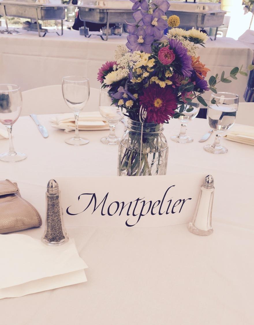 Wedding table #2