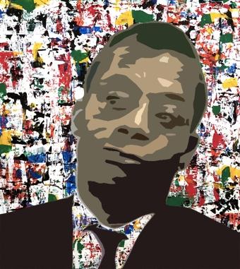 James Baldwin (1924-1987) American novelist, poet, essayist, playwright and activist.