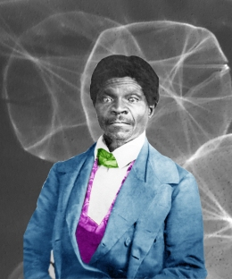 Dred Scott (1799-1858) American activist and enslaved man. Scott sued for his and his family's freedom in the Dred Scott v Sandford 1857 Supreme Court case.