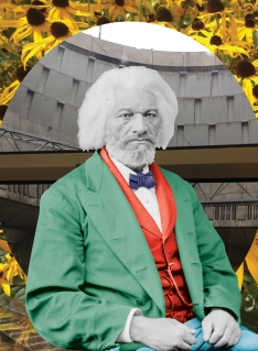 Frederick Douglass (1818 - 1895) American abolitionist, social reformer, statesman, orator and writer. Library of Congress, Brady-Handy Collection