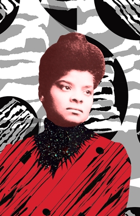 Ida B. Wells (1862 - 1931) American journalist, educator, a founder of the NAACP and anti-lynching activist.