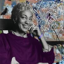 June Jordan (1936-2002) American poet, educator, activist and essayist.